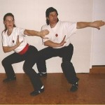 Comparative Analysis Of Two People In A Yin Fu Ba Gua Stance