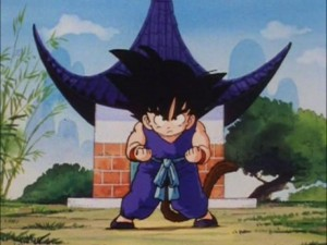 Goku_And_Wing_Chun-GokuInStance