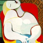 "Picaso's Painting Titled ""The Dream"" Depicts A Masturbating Woman"