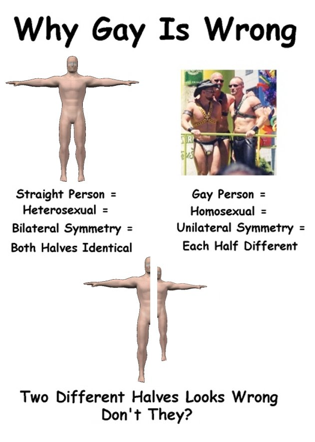 Homsexuality is wrong