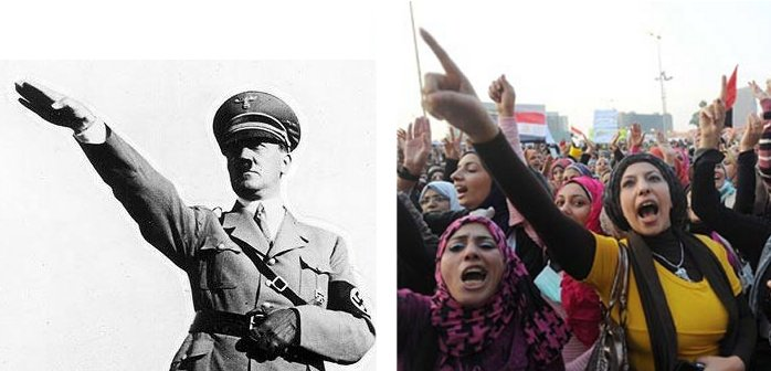 Demonization_Nazi_Salute-HitlerProtesterCompare