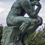 """Rodin's Sculpture """"The Thinker"""" Is An Example Of A Masturbation Changed Human Body"""