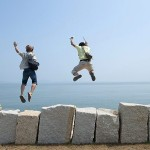 Two Men Jumping: Strong And Stronger Yin - The Secrets Of Life 45